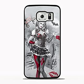 Batman Arkham Knight Harley Quinn Design Tya for Samsung Galaxy and Iphone Case (Samsung S6 black)