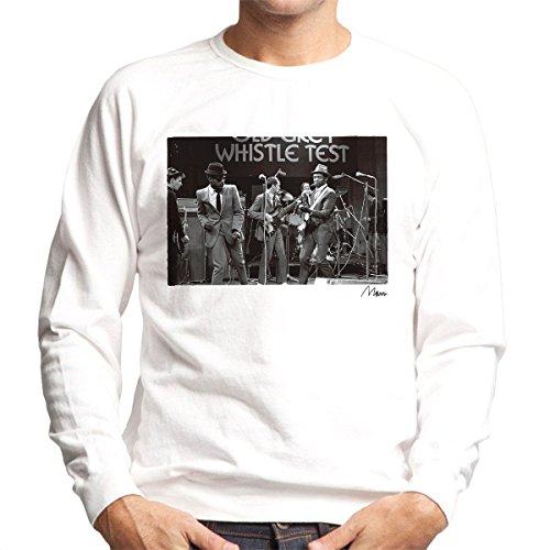 Richard Mann Officiële Fotografie - De Specials Performing Op De Oude Grijze Fluitje Test Heren Sweatshirt