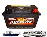 12V 50AH Leisure Battery Deep Cycle For Caravan, Motorhome, Camper & Boats