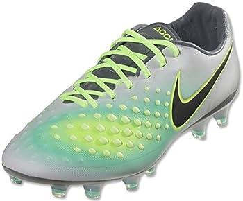 Nike Men s Magista Opus II FG Soccer Cleats  4 D M  US Pure Platinum/Black-Ghost Green