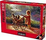 Anatolian 500 Piece Puzzle - I Love New Yorkies Puzzle, Brown/A, Model: PER3306