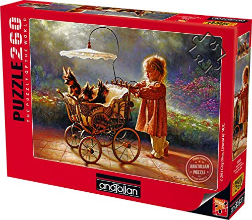 Anatolian/perre Group - Ana.3306 - Puzzle Classique - I Love New Yorkies - 260 Pièces