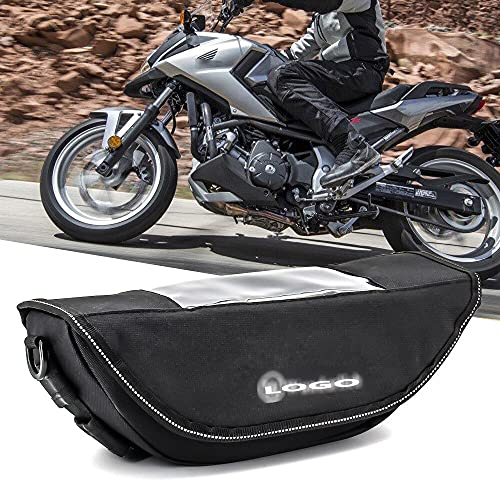 HWH Para ho.n.da af.ri.ca Twin CRF1000L SPORT NC700X VFR1200X Motocicleta Impermeable Bolsas de viaje Maleta Saddlebags and Manillar Bag Durable