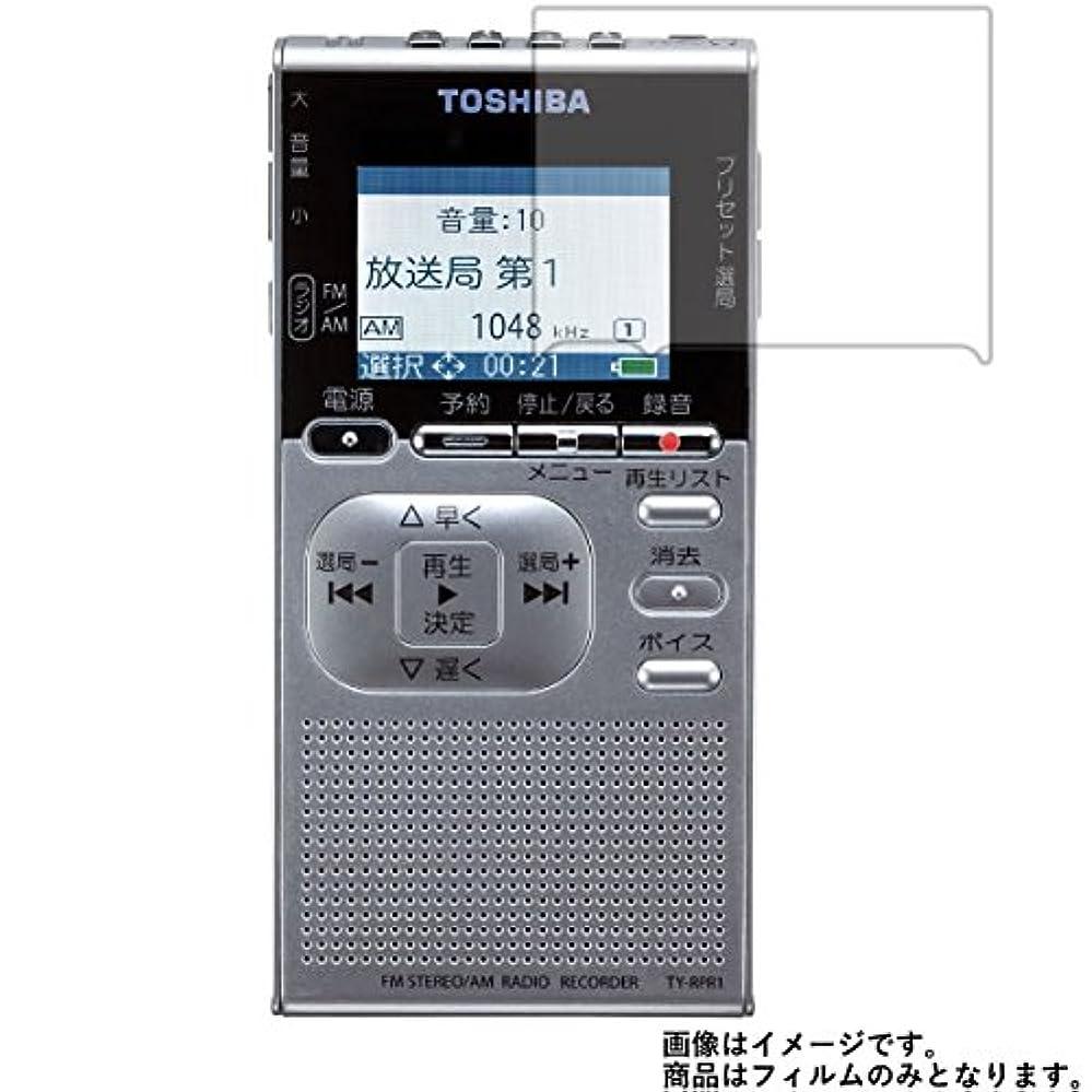 生命体衣服民主主義【2枚セット】Toshiba TY-RPR1 用 液晶保護フィルム 反射防止(マット)タイプ
