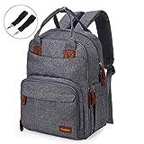 Conleke Diaper Bag backpack Multi-Function Waterproof Travel Backpack Nappy Bags for Baby Care