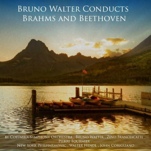 Columbia Symphony Orchestra, Bruno Walter, Zino Francescatti, Pierre Fournier, New York Philharmonic, Walter Hendl & John Corigliano