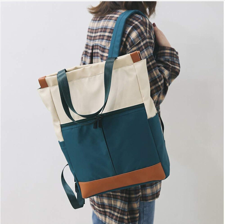 QWKZH Schoolbag weiblichen College koreanische Version des Wilden Modetrend Rucksack