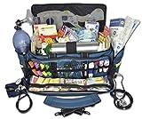 Lightning X O2 Trauma Bag w/EMT First Responder Stocked Fill Kit D - Blue