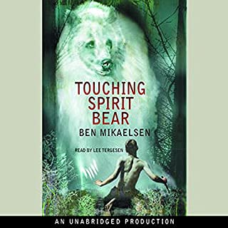 Touching Spirit Bear audiobook cover art