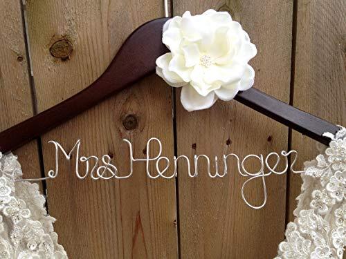 Qui556 Brautkleiderbügel für Brautjungfern und Brautjungfern