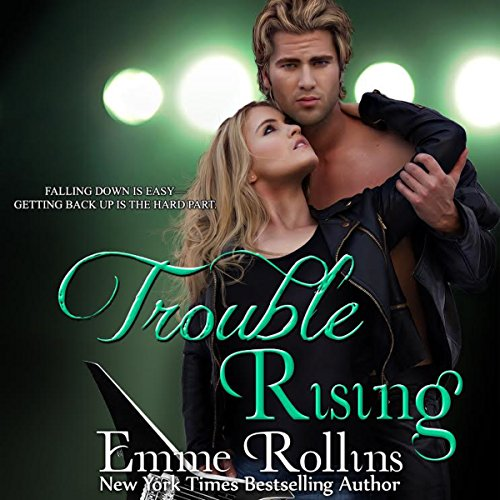 Trouble Rising audiobook cover art