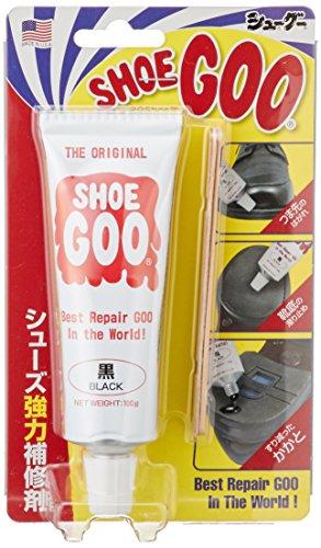 [シューグー] クリーム 靴補修材 ブラック Free