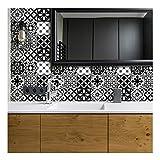 Stickers muraux adhésifs carrelages | Sticker Autocollant Carreaux de Ciment - Stickers muraux cuisine| Carreau de Ciment Adhésif Mural Azulejos 15x15cm - 30 PCS carrelage adhesif mural salle de bain