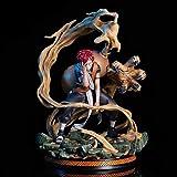 Naruto Combat Gardien Bouclier Gaara Scène Effet des Effets Spéciaux d'action Bureau Figure Animated Caractère Modèle Décoration Statue