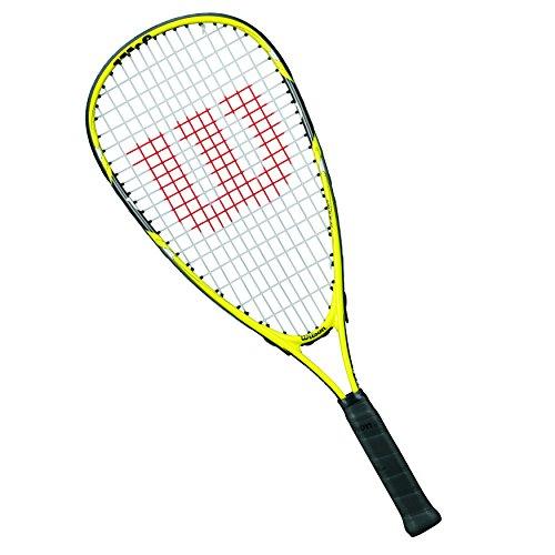 Wilson Kinder Squash-Schläger Ripper Junior, gelb/schwarz, WRT913000