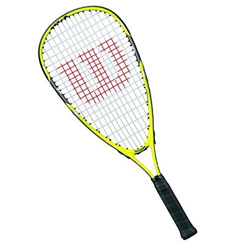 Wilson Ripper Junior Raqueta de squash para niños, Amarillo