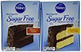 Pillsbury Sugar Free Cake Mix Value Bundle - 1 Box Sugar Free Devil's Food Cake & 1 Box Sugar Free...