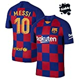 Barcelona Home Kit Messi Printed Kids Jersey 2019-2020 Jersey with Short