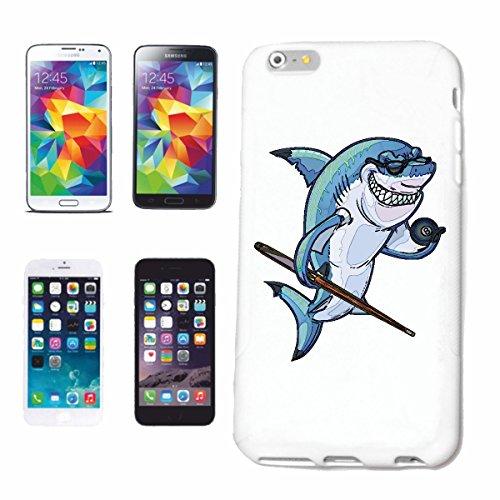 Reifen-Markt Hard Cover - Funda para teléfono móvil Compatible con Sony Xperia Z3 TIBURÓN EN Blanco Piscina de Juegos Hai Megalodon tiburón Azul Hammerhai Punta ne