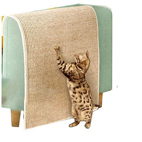 01 Kratzbrett für Katzen, natürliches Sisal, verschleißfest, Sofa-Schutz,...