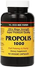 YS Eco Bee Farms Propolis 1000-90 Caps (Pack of 3) by Y.S. Organic Bee Farms