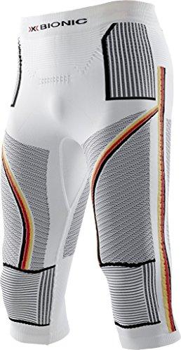 X-Bionic Pull de Ski pour Adulte imperméable Patriot acc Evo UW Pants Medium L/XL Multicolore - Motif Lunettes/Drapeau Allemand