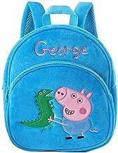 VIETXA Peppa George Pig Plush Backpack Backpack Doll Kawaii Backpack Wallet Kindergarten Bag Child Birthday Christmas GIF - Complete Series Merchandise