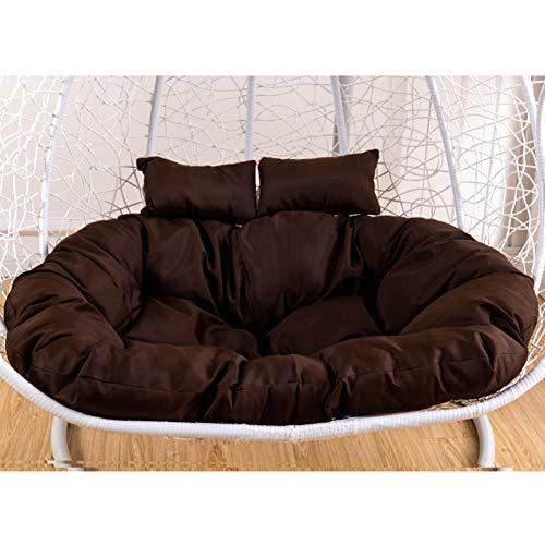 MSM Furniture Seat Cushion Pad Garden Patio,double Wicker Rattan Cushion,hanging Hammock Nest Swing Cushion,hanging Egg Chair Cushion Dark Brown
