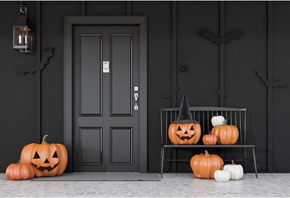 DORCEV 10x6.5ft Cheap bargain Happy Halloween Backdrop Cute Pumpkin latest Fa Smiling