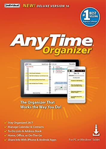 Top New AnyTime Organizer Deluxe 16 [PC Download]