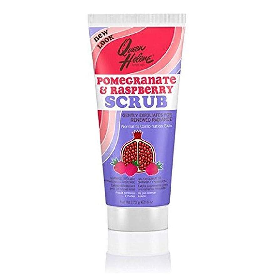 七面鳥に変わる破壊的なQUEEN HELENE Natural Facial Scrub, Pomegranate & Raspberry 6 oz by Queen Helene