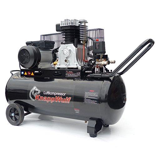 KnappWulf Kompressor Luftkompressor KW3100S mit 100L Druckbehälter 250L/min 10bar