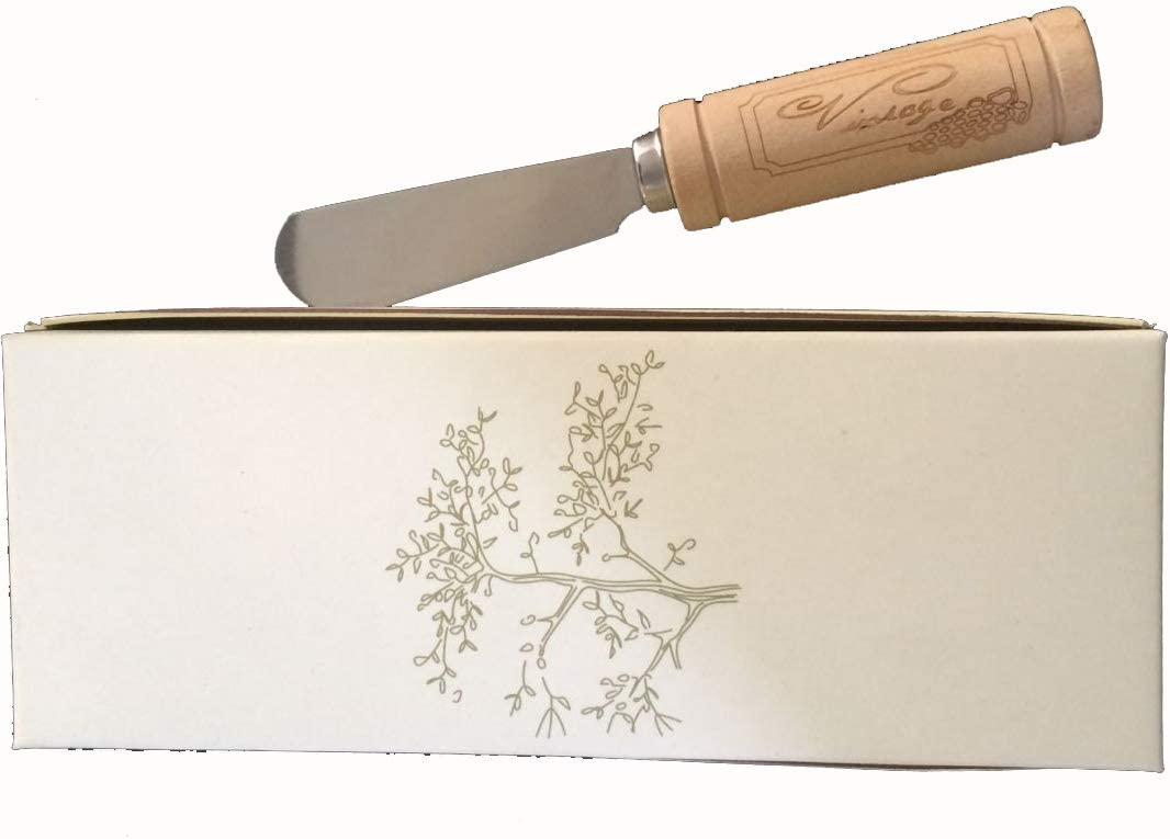 Personalized Free by KateMelon 10 Custom Engraved Fleur-De-Lis Cheese Spreader Favors