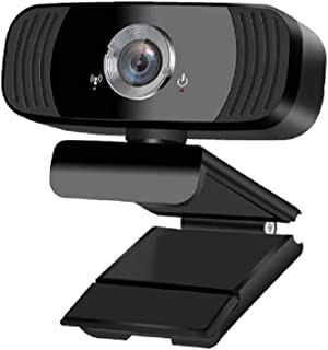 Crate webカメラ マイク 1080P 30fps 110° 広角 三脚付き 内蔵 ウェブカメラ フルHD 200万画素 高画質 USB接続 プラグアンドプレー PC ps4 Mac対応 ノイズキャンセリング機能 自動光補正 三脚対応 多...