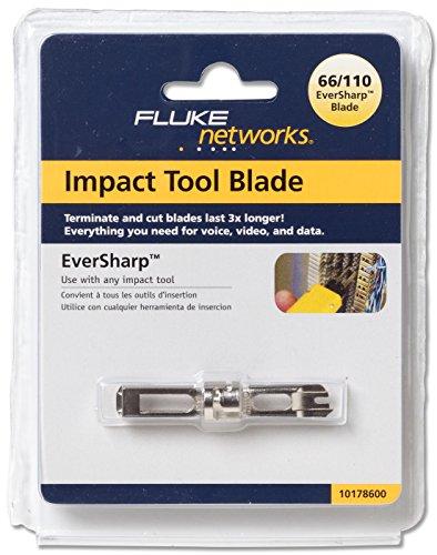 Fluke Networks 10178600 EverSharp 110/66 Punch Down Tool Blade for D914 Series and D814 Series Impact Punch Down Tools