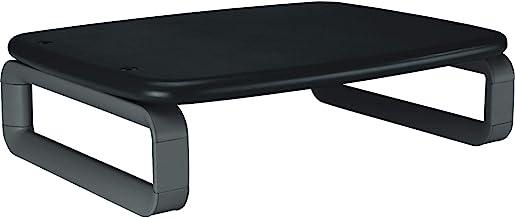 "KENSINGTON(R) 52786 Monitor Stand, Smartfit Premium, Black, 12.7"" x 16.2"" x 2.2"""