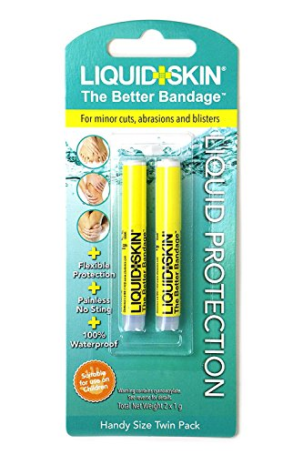 Liquid Skin®–Hochwirksames flüssiges Pflaster, leicht anzuwenden, Keine Schmerzen. eine Blisterpackung (2x 1-g-Pipette)
