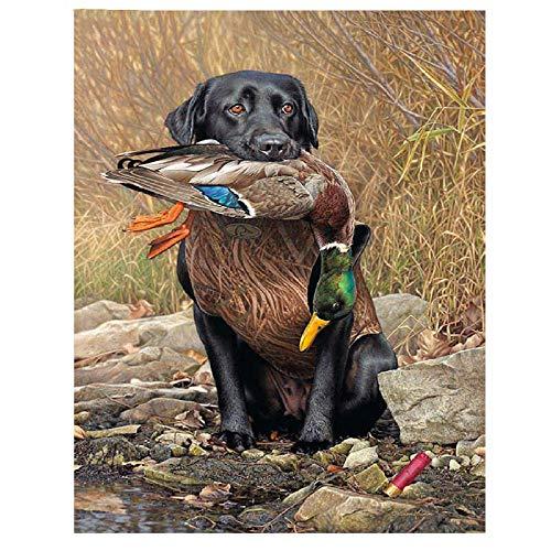 DIY de madera Puzzles Perro grandes adultos 1000 piezas perro de caza Venta foto de Decoración del hogar