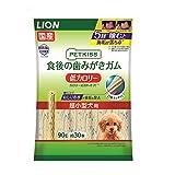 ペットキッス 食後の歯みがきガム 低カロリー 超小型犬用 90g(約30本)