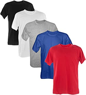 Kit 5 Camisetas 100% Poliéster