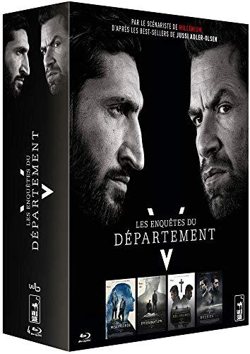 Les Enquêtes du Département V : Miséricorde + Profanation + Délivrance + Dossier 64 [Francia] [Blu-ray]