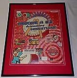 Taiko Drum Master 2004 PS2 Framed 11x14 ORIGINAL Advertisement