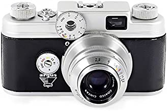 ARGUS C-4 35mm Rangefinder camera with 50mm f/2.8 Coated Cintar Lens - Vintage 1950s