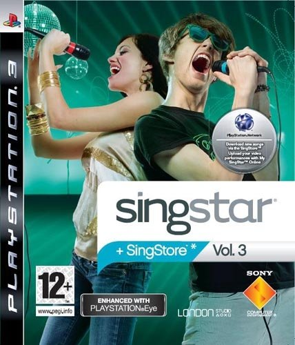 Sony SingStar Vol.3 - PS3 videogioco PlayStation 3