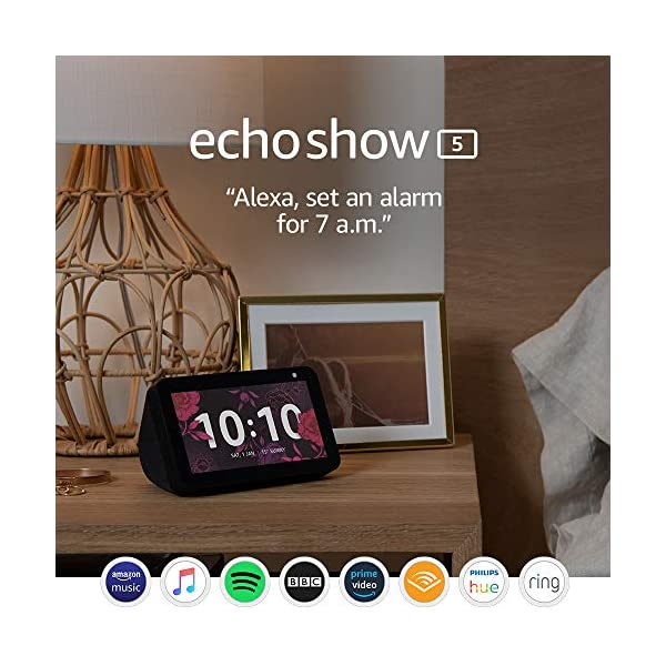 Introducing Echo Show 5 – Compact smart display with Alexa 7
