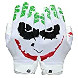 Repster Football Gloves - Tacky Grip Skin Tight Adult Football Gloves - Enhanced Performance Football Gloves Men - Jester Pro Elite Super Sticky Receiver Football Gloves - Adult Sizes (X-Large)