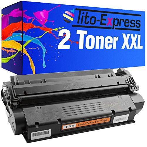 Tito-Express PlatinumSerie 2 Toner XXL Schwarz für Canon FX-8 ImageClass PC-D320 PC-D340 PC-D383 PC-D420