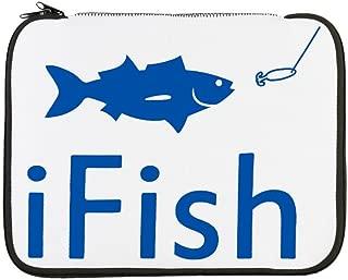 13 Inch Laptop Sleeve iFish Fishing Fisherman