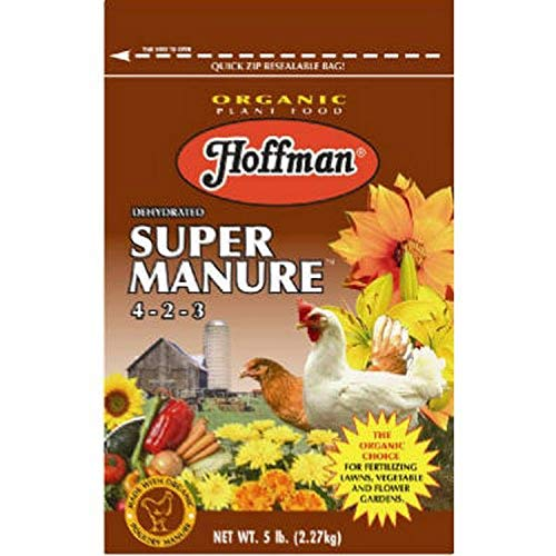 Hoffman 20505 Dehydrated Super Manure 4-2-3, 5 Pounds