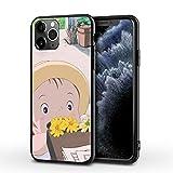 Totoro Cover per iPhone12/12 PRO Custodia per Cellulare con Stampa Totoro Ultra Sottile e Infrangibile in TPU Custodia Cover Slim Anti Scivolo Custodia,007,iPhone 11
